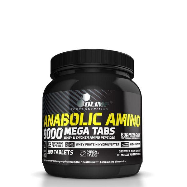 olimp anabolic amino 9000 mega caps test