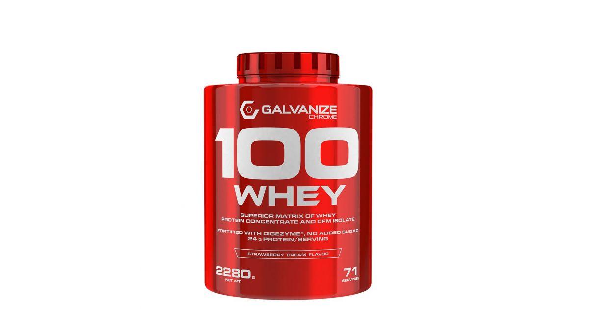 GALVANIZE NUTRITION - 100 WHEY - 900 G