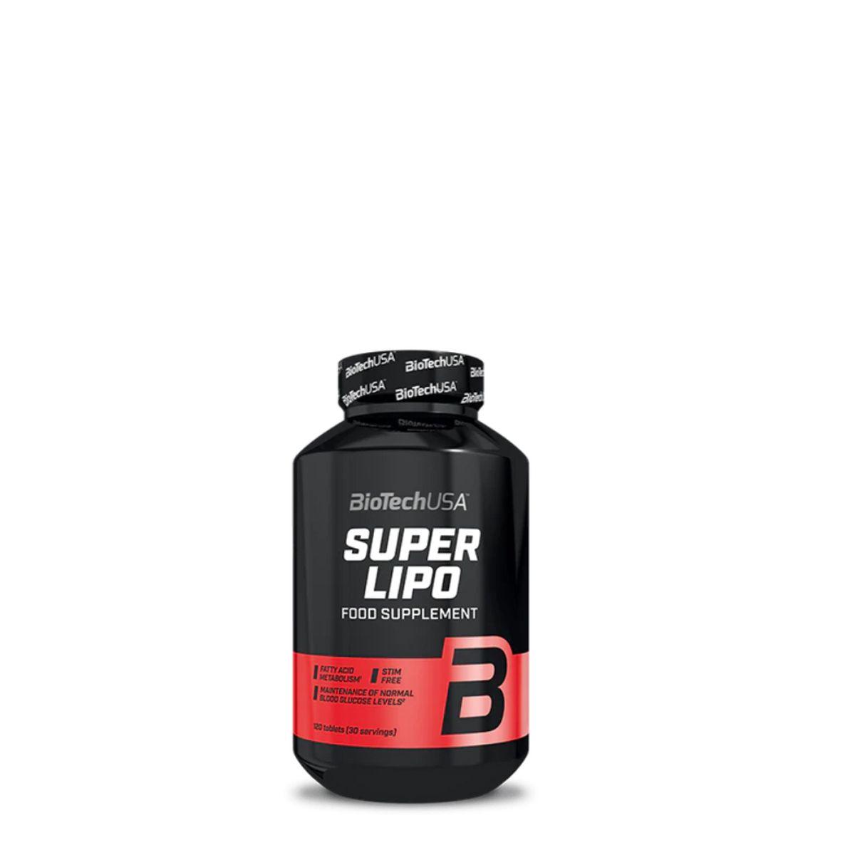 Super Fat Burner étrend-kiegészítő tabletta - BioTechUSA