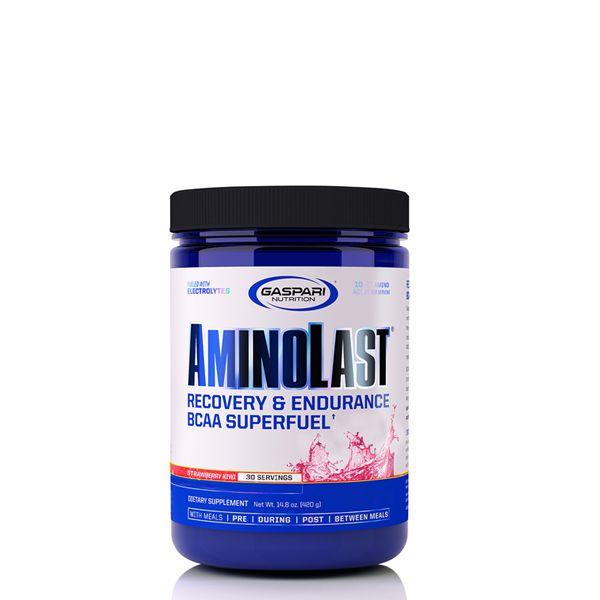 GASPARI NUTRITION - AMINOLAST - RECOVERY & ENDURANCE BCAA SUPERFUEL - 14,8 OZ - 420 G