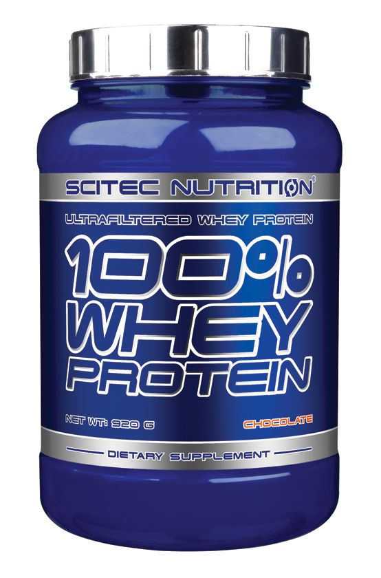 SCITEC NUTRITION - 100% WHEY PROTEIN - WITH EXTRA AMINO ACIDS - 920 G (HG)