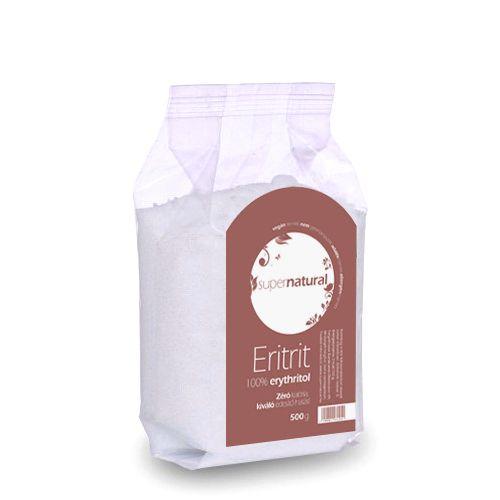 SUPERNATURAL ERITRIT ÉDESÍTŐSZER - 100% ERYTHRITOL - 500 G (0,5 KG)