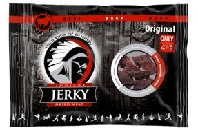 INDIANA JERKY DRIED MEAT - BEEF ORIGINAL - 100 G (HG)