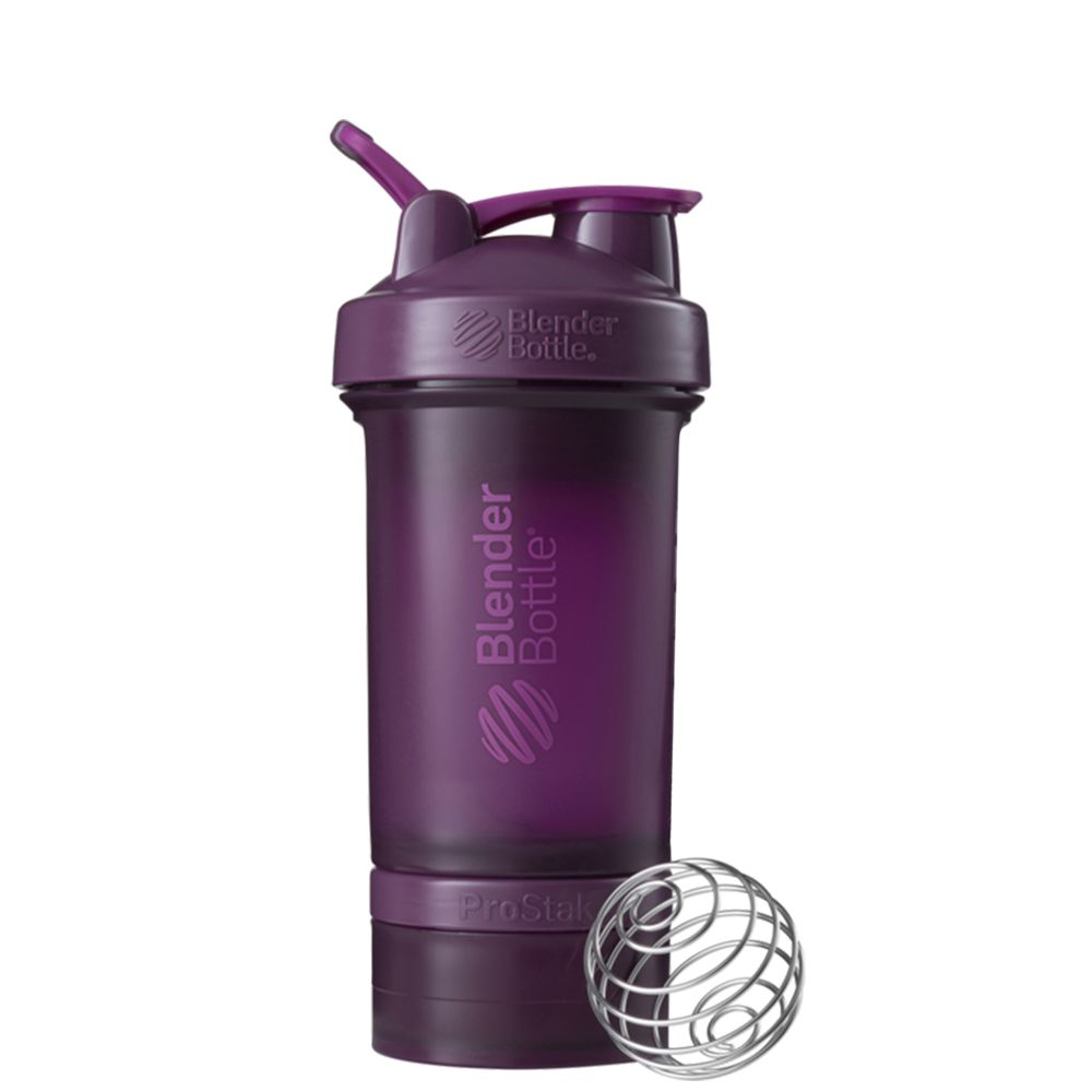 BLENDER BOTTLE - PRO STAK SHAKER - PLUM - 650 ML