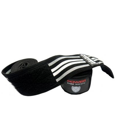 POWER SYSTEM - KNEE WRAPS - TÉRDBANDÁZS - PS 3700 - BLACK (HG)
