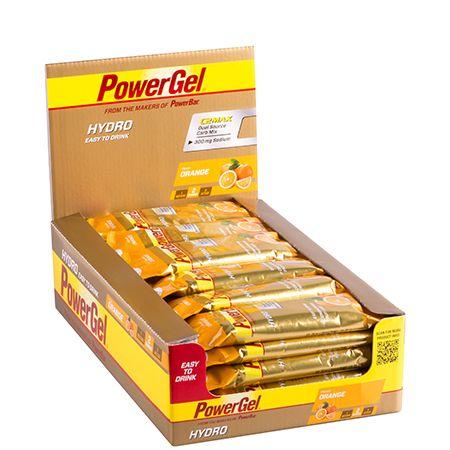 POWERBAR - POWERGEL HYDRO - ENERGY GEL WITH DUAL CARB MIX - 24 x 67 ML