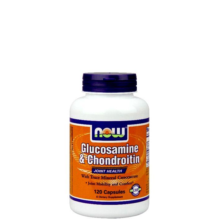NOW - GLUCOSAMINE & CHONDROITIN - JOINT MOBILITY & COMFORT - 120 KAPSZULA