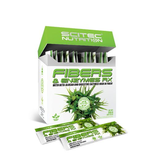 SCITEC NUTRITION GREEN SERIES - FIBERS & ENZYMES RX - 30 TASAK (30 x 8,5 G)