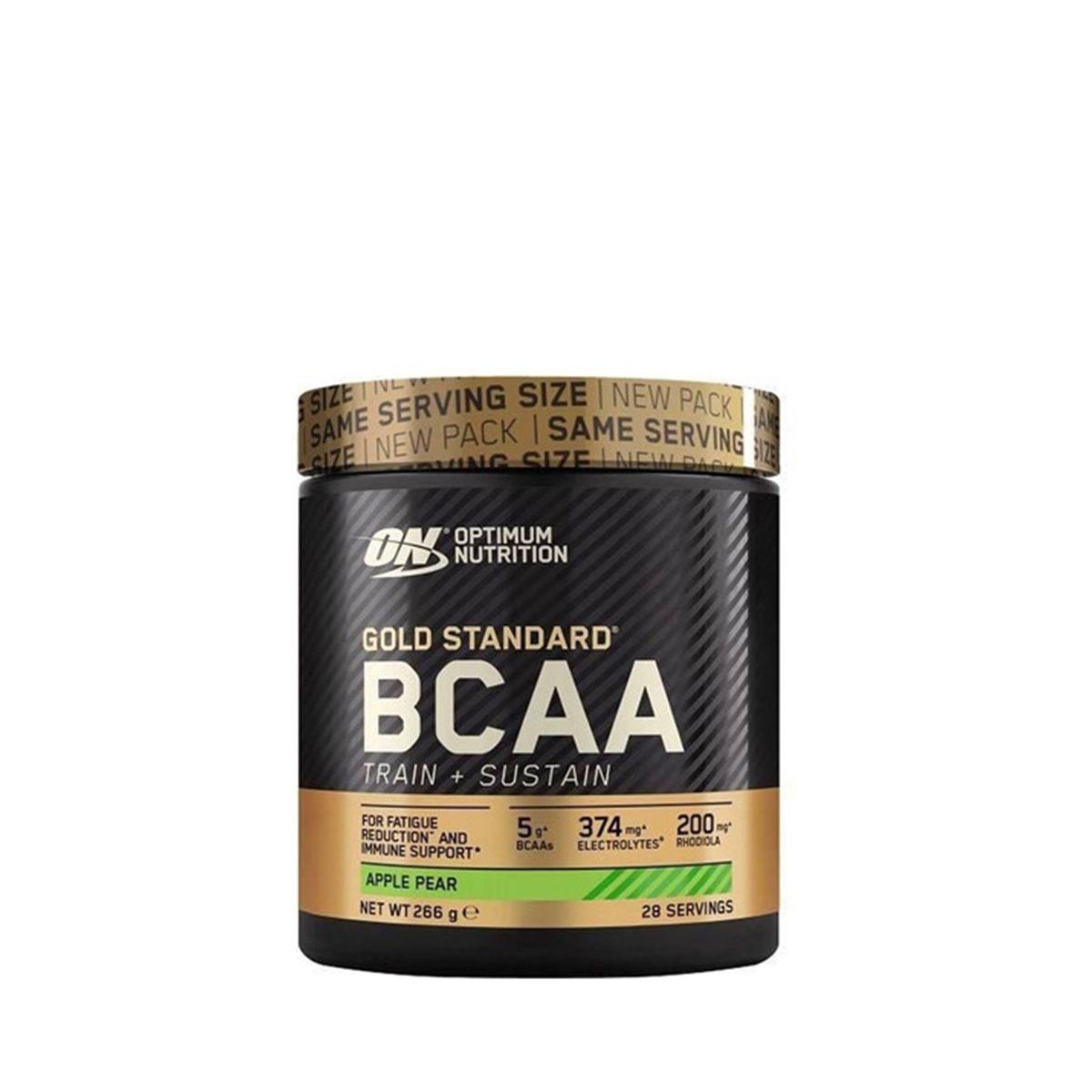 OPTIMUM NUTRITION - GOLD STANDARD BCAA - TRAIN+SUSTAIN - 266 G
