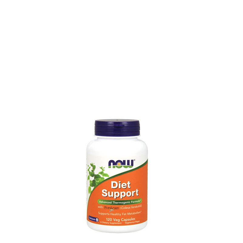 NOW - DIET SUPPORT - ADVANCED THERMOGENIC FORMULA WITH FORSLEAN - 120 KAPSZULA