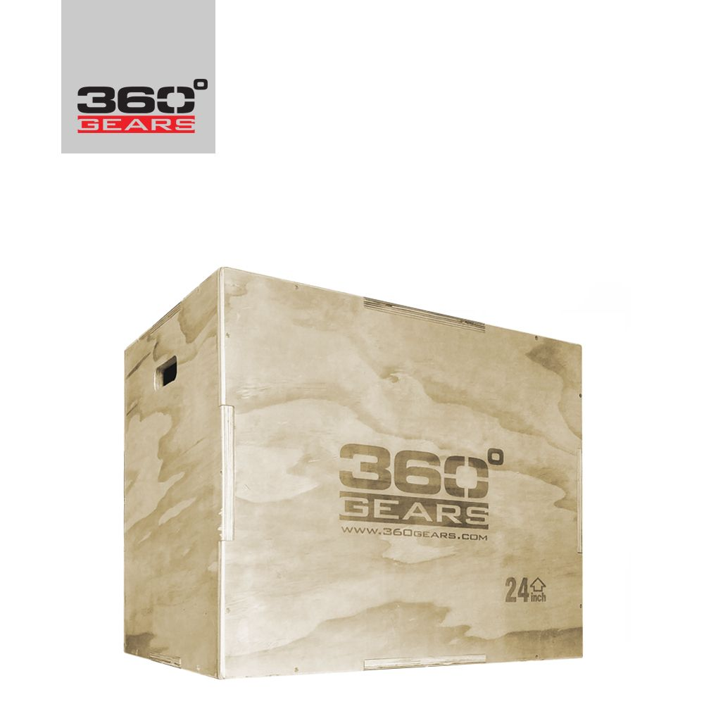 360GEARS - CROSSTRAINING PLYO BOX - 75 x 60 x 50 CM