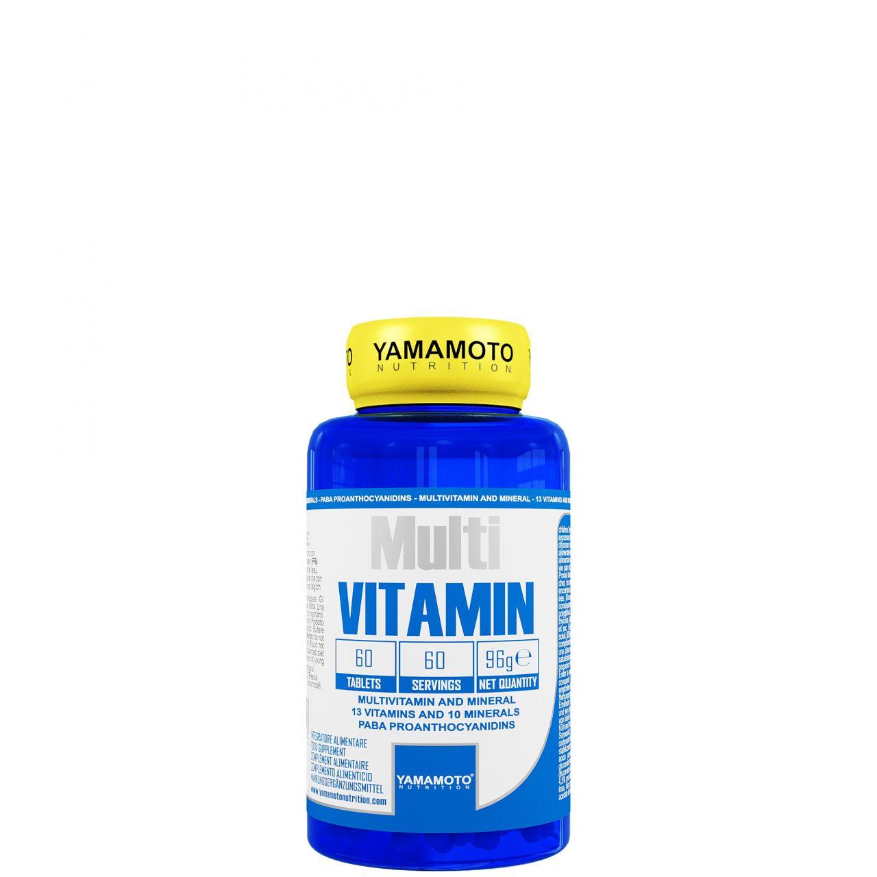 YAMAMOTO NUTRITION - MULTI VITAMIN - 60 TABLETTA